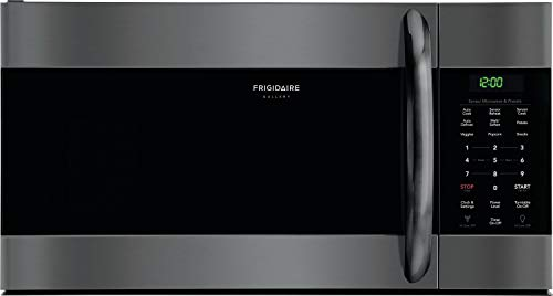 """Frigidaire FGMV176NTD 30"""" Gallery Series Over the Range Microwave with 1.7 cu. ft. Capacity in Black Stainless Steel"""