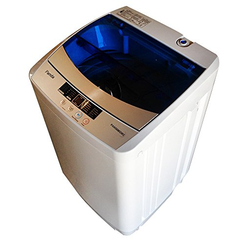 Panda Portable Compact Top Load Washer, 1.6cu.ft, PAN56MGW2, Rinse, Spin and Drain Fully Automatic Washing Machine 120V, 1.6cu.ft/11lbs Capacity