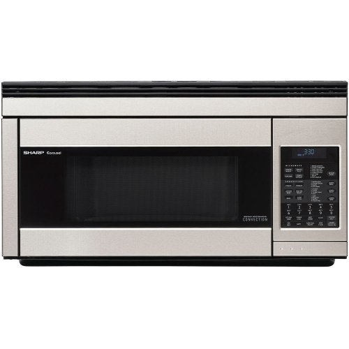 Sharp R1874T 850W Over-the-Range Convection Microwave, 1.1 Cubic Feet, Stainless Steel