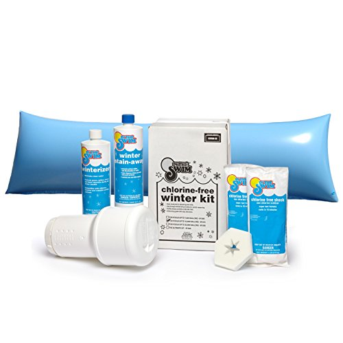 In The Swim Winterizing and Closing Chemical Kit Deluxe Bundle with 4 x 8 Foot Air Pillow