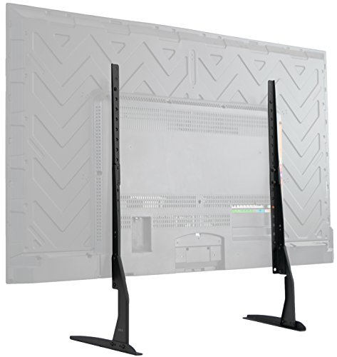 VIVO Universal Tabletop TV Stand for 22 to 65 inch LCD Flat Screens | VESA Mount with Hardware Included